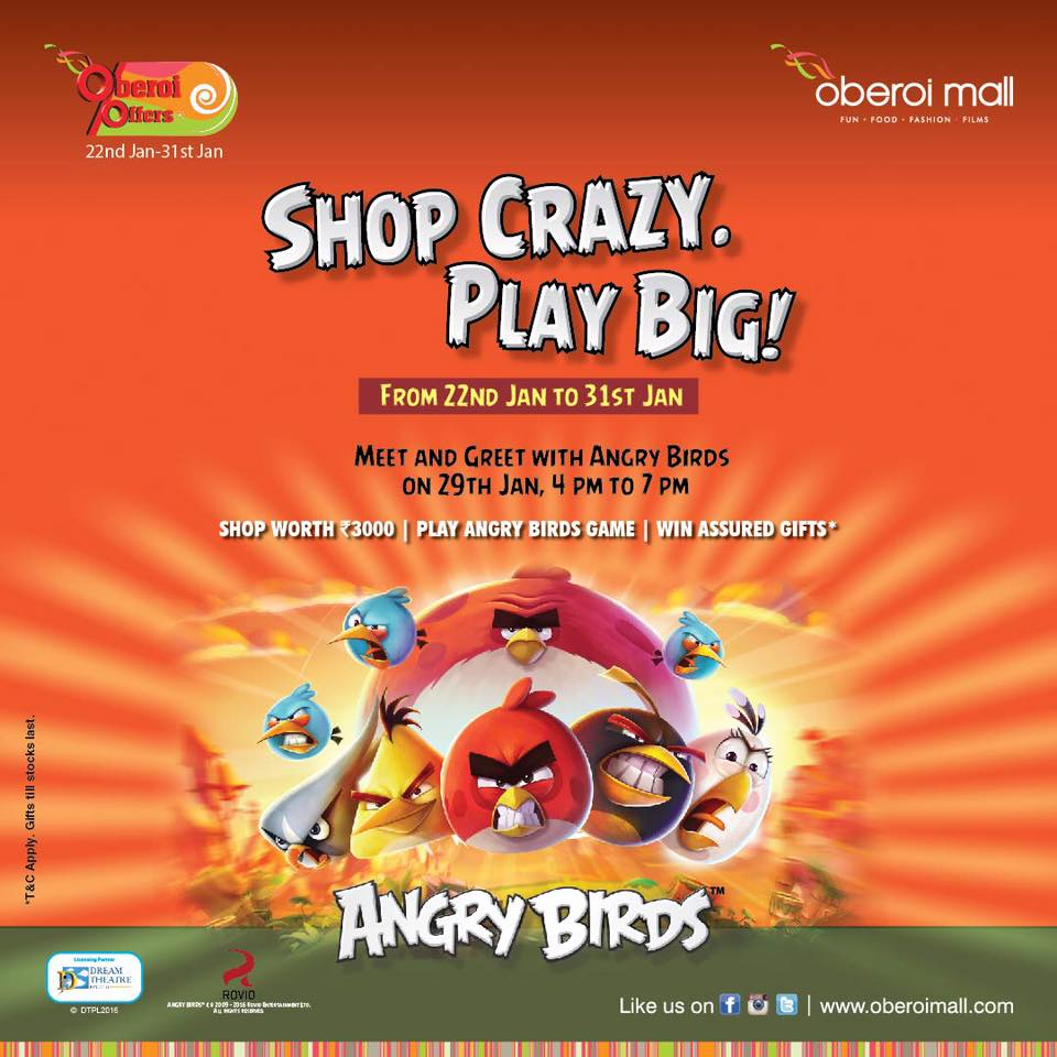 angry-bird-oberoi-mall-meet-and-greet-poster-dream-theatre