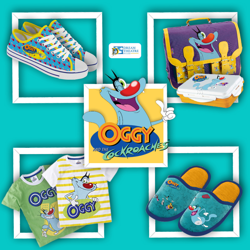 oggy-and-the-cockroaches-licensed-products-in-india